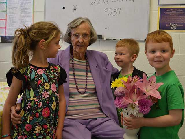 Foster still in school at 90