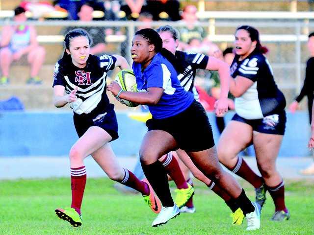 Rugby splits senior night