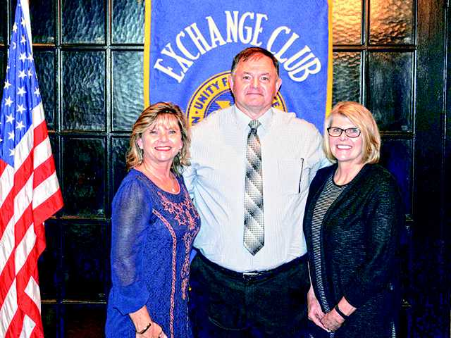 Matheny honored by Exchange Club