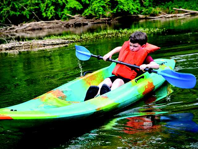Students rewarded with kayak trip