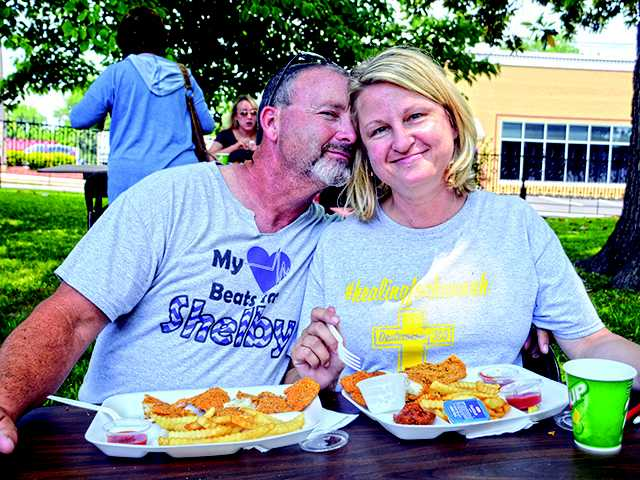 Black House holds fish fry