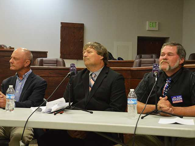 County executive candidates face off