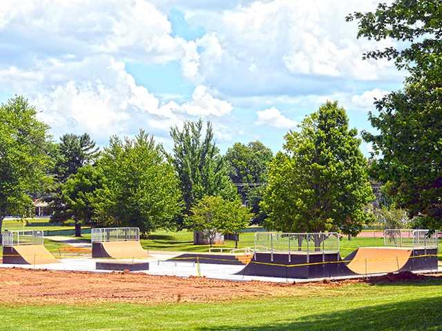 Skate park rolling toward completion