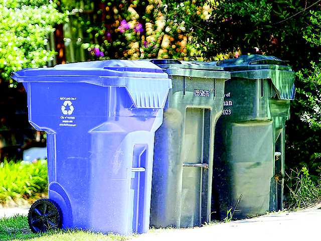 City discusses curbside recycling