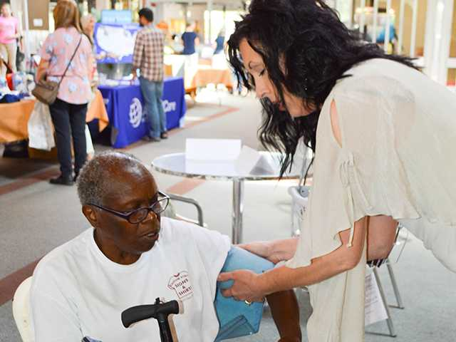 Health Fair stresses prevention
