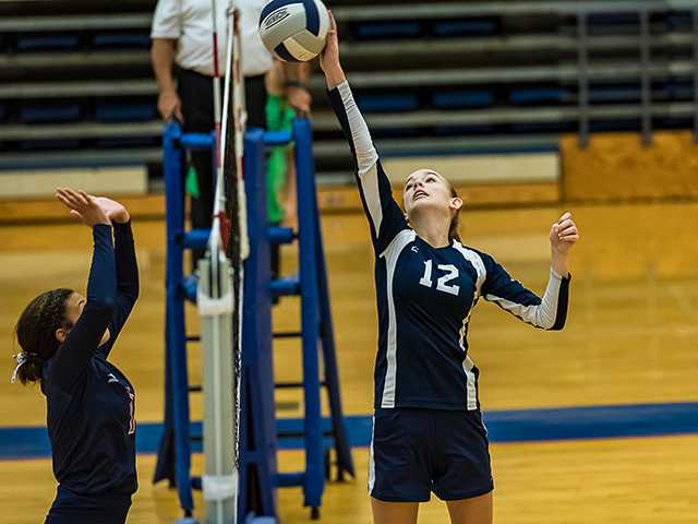 Covenant volleyball showing improvement
