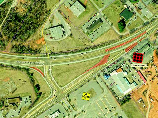 Mall area to get traffic flow redesign