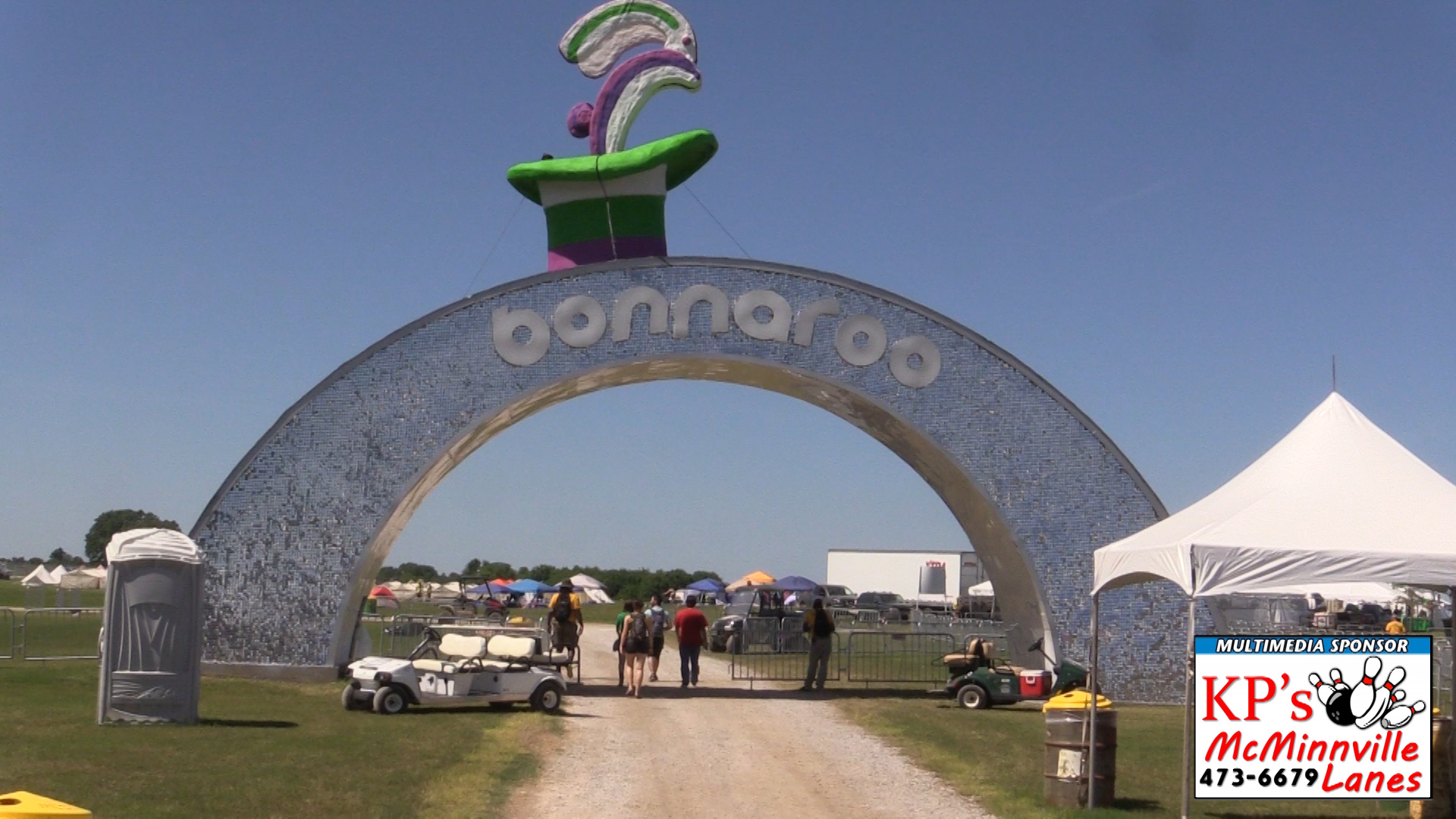 VIDEO: Bonnaroo adds convenience for campers