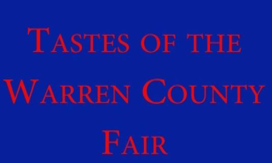 Tastes of the Warren County Fair