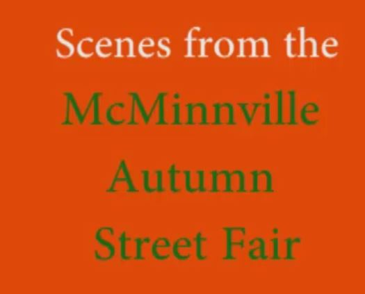 Sights and Sounds from the Autumn Street Fair