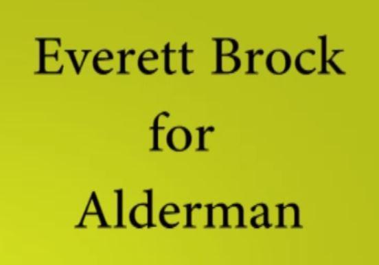 Everett Brock for McMinnville Alderman