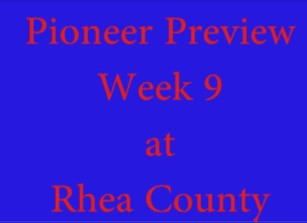 Pre-game Rhea County