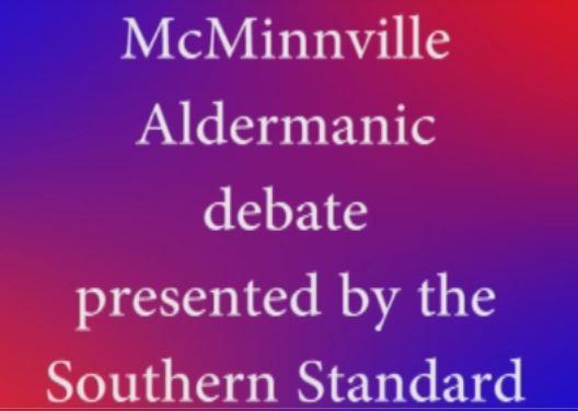 McMinnville Aldermanic candidates debate