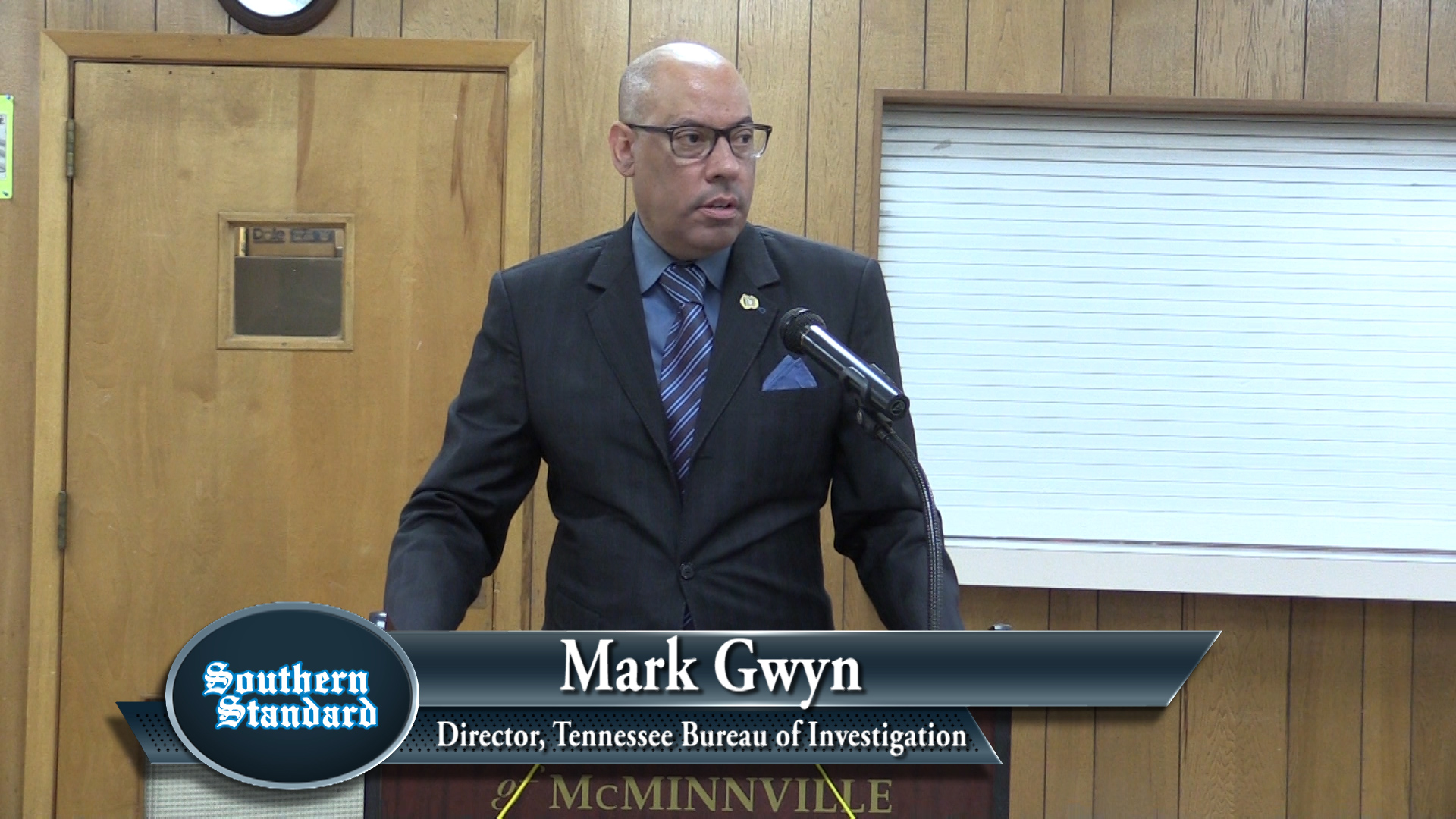 VIDEO: Mark Gwyn talks about crime in Tennessee