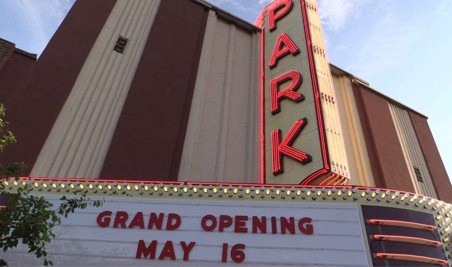 Park Theater Opens