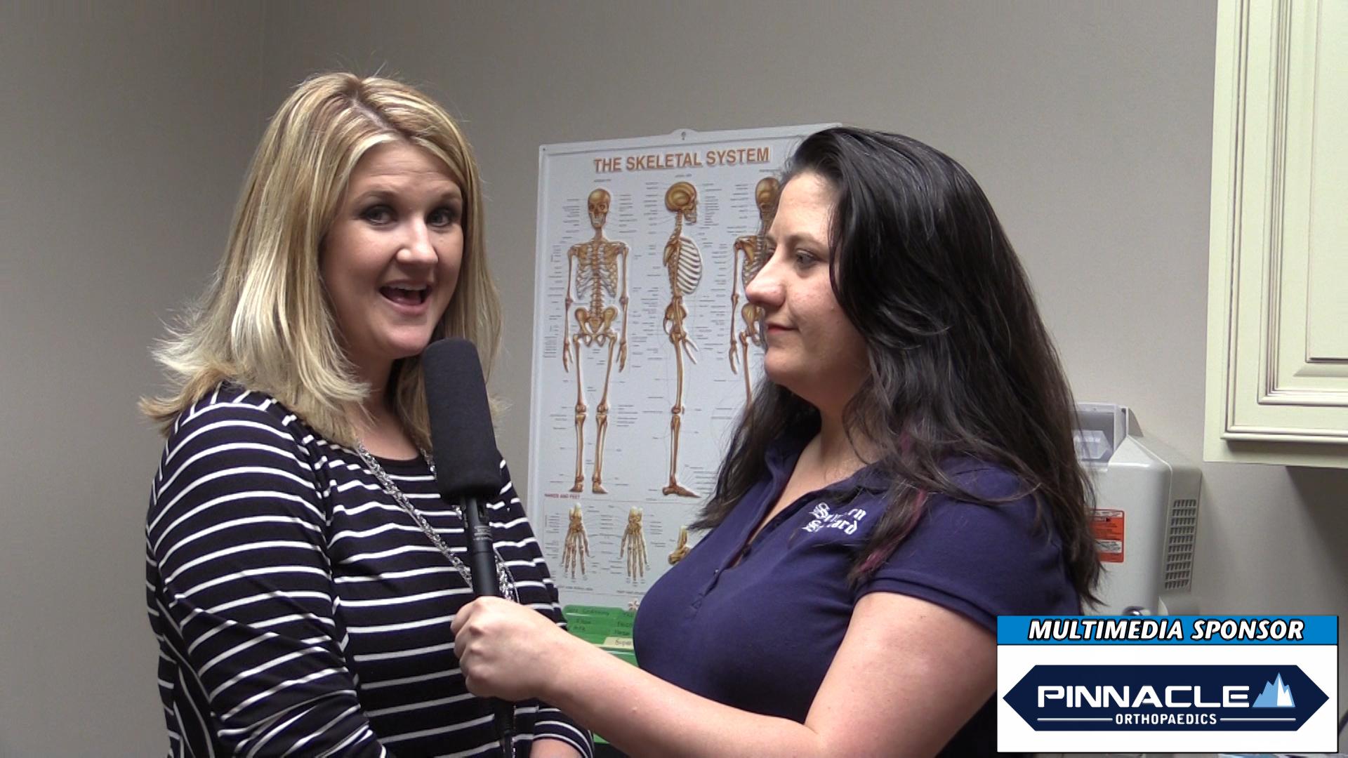 VIDEO: Hailey Taylor joins Pinnacle Orthopaedics