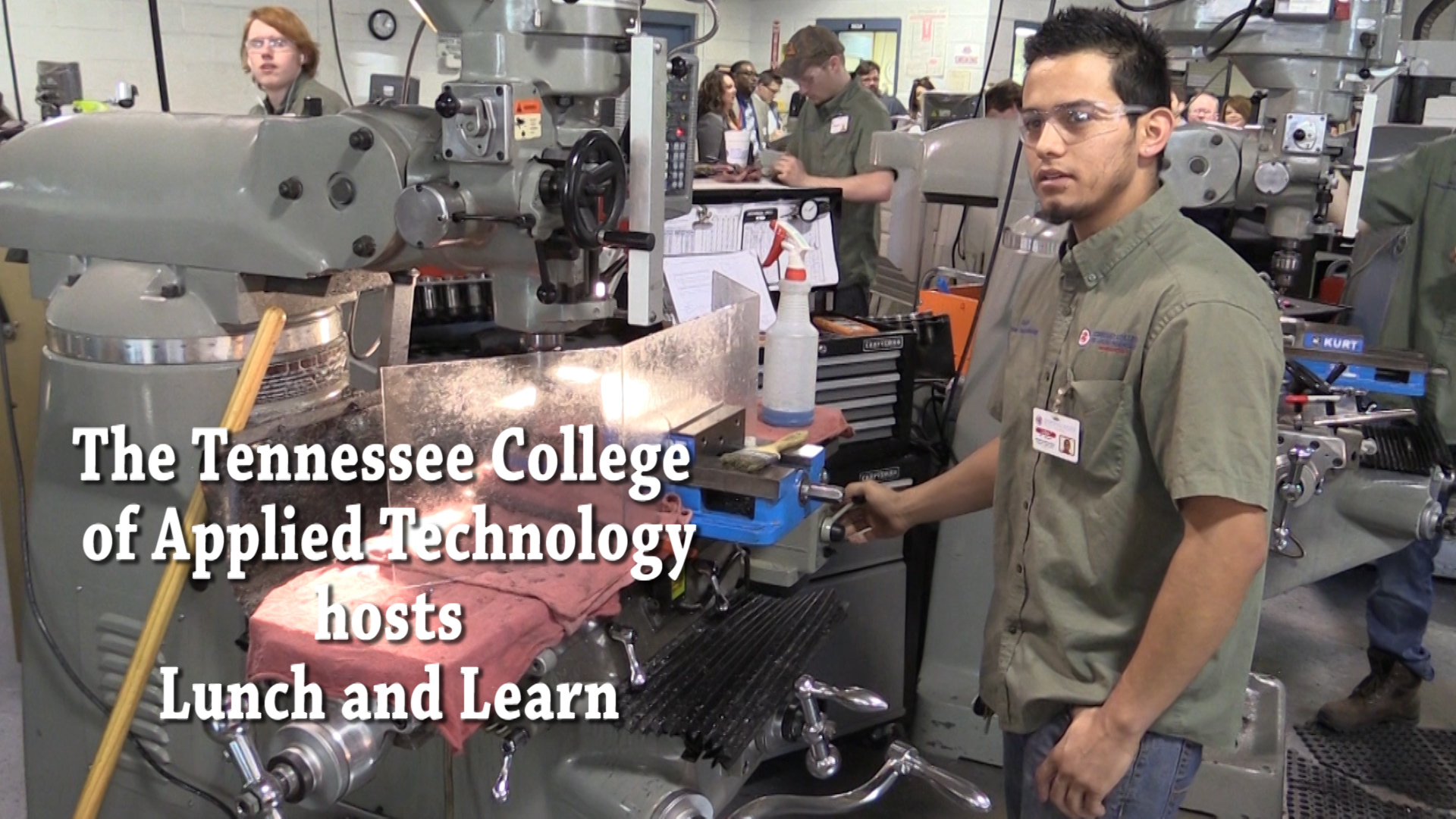 VIDEO - TCAT hosts lunch and learn