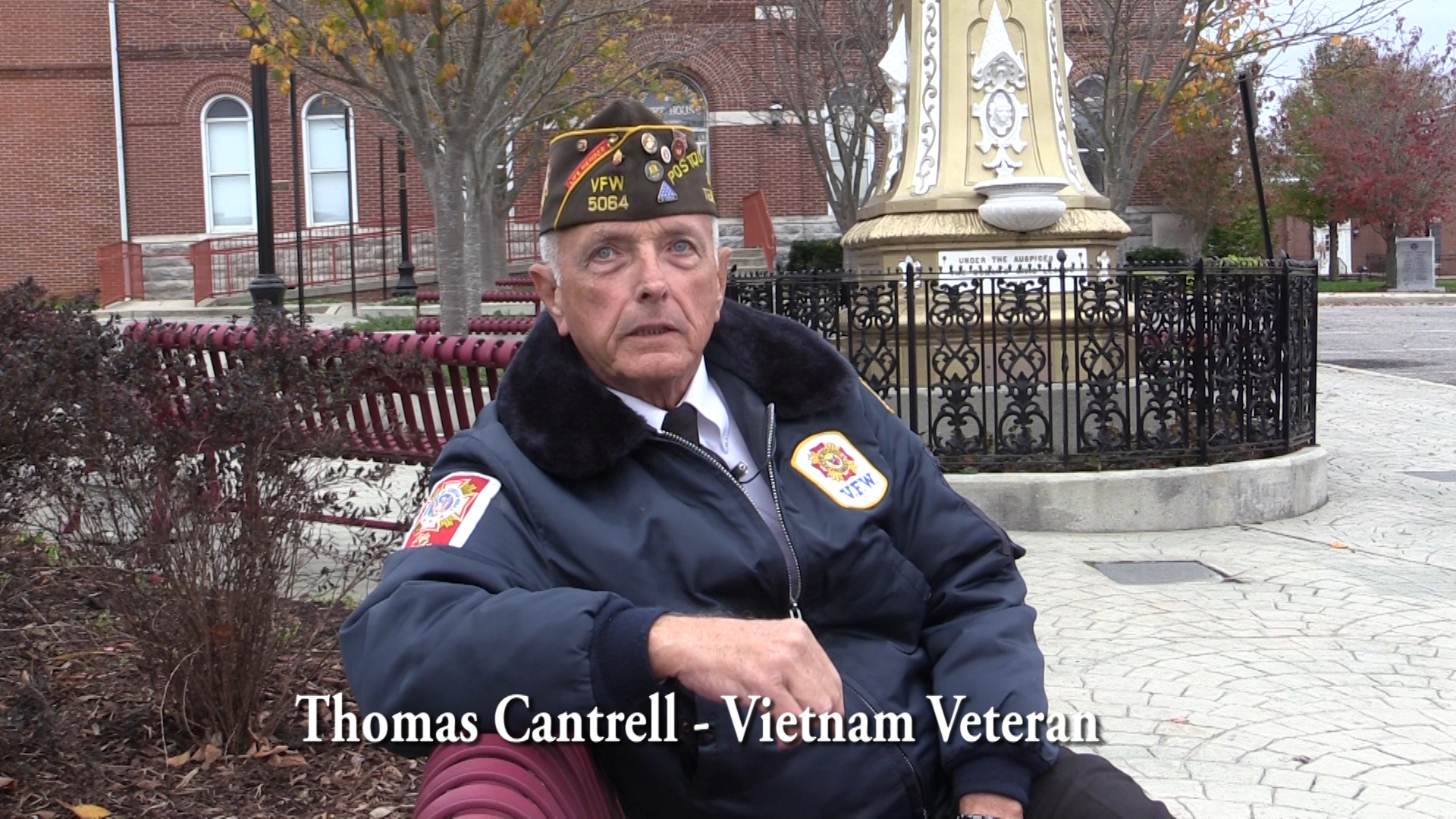 Thomas Cantrell talks about the Vietnam War
