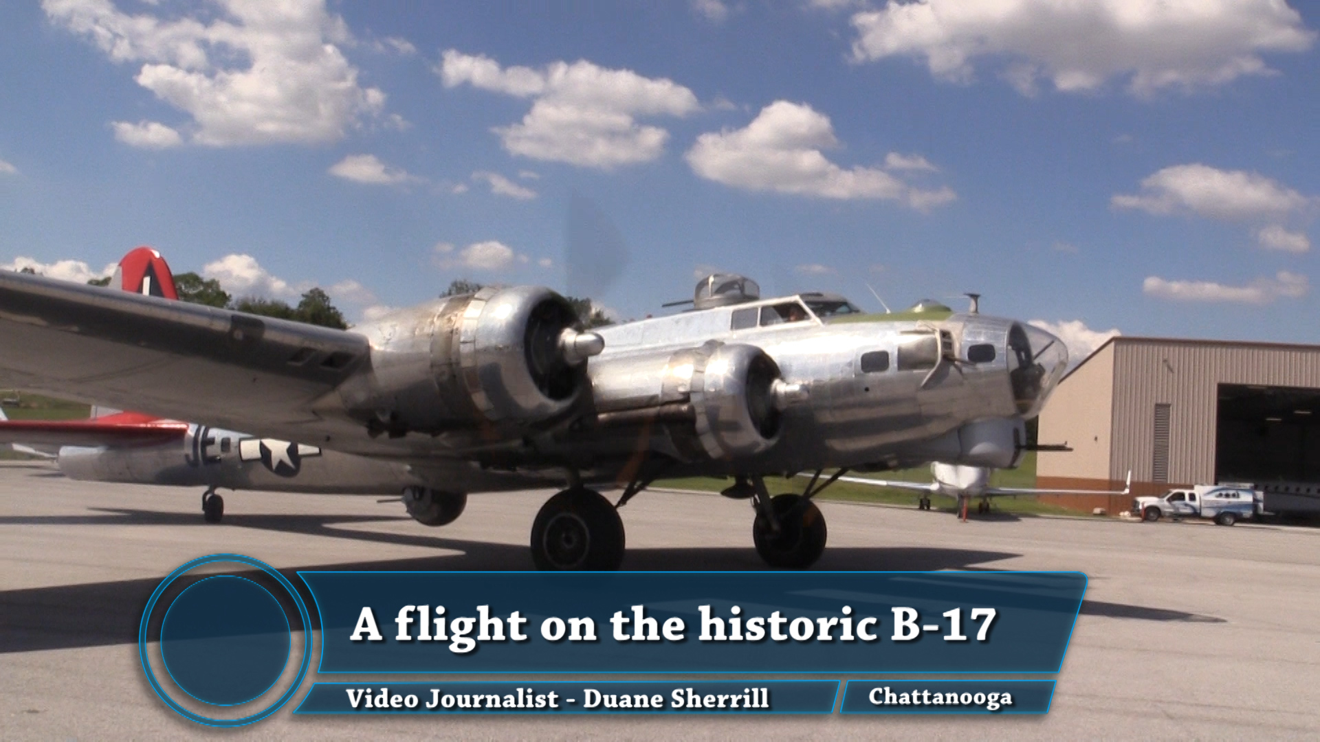 VIDEO - A Flight on the B-17