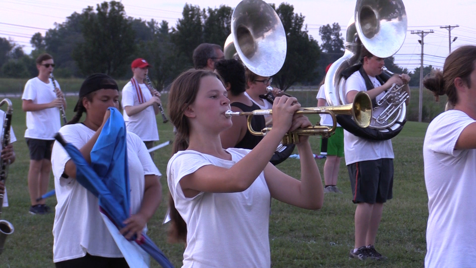 VIDEO - Behind the scenes at Band Camp