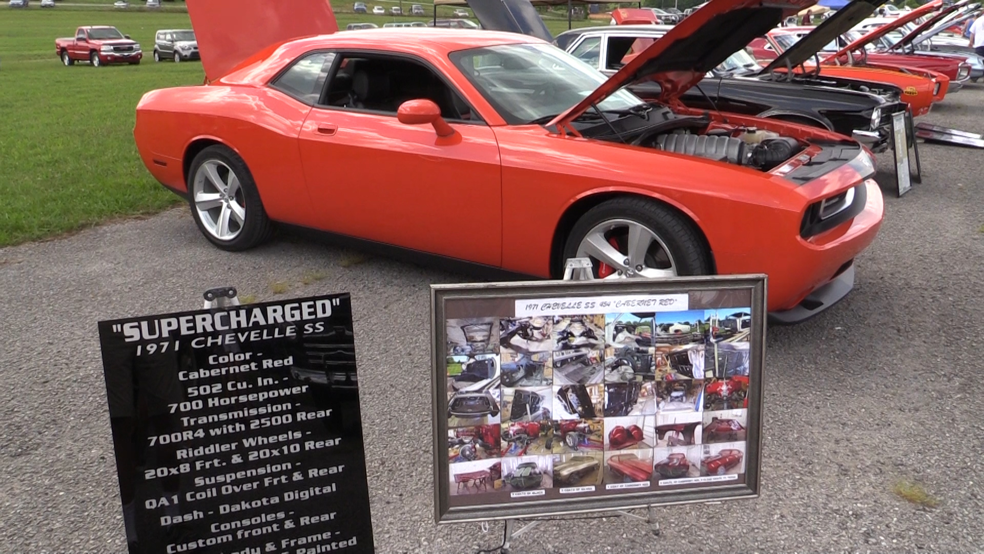 The fifth annual Marketville car show
