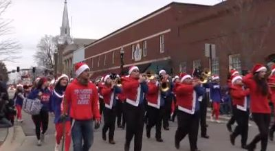 Christmas Parade opening