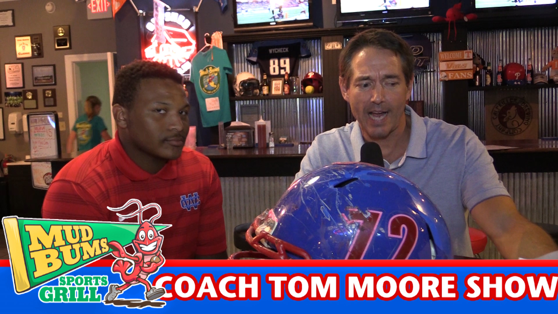Coach Tom Moore talks about the upcoming Smyrna game