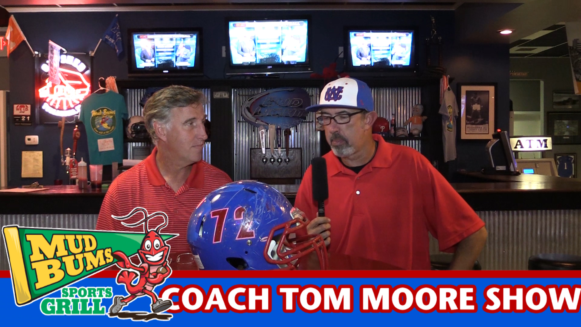 Coach Tom Moore discusses the Smyrna game