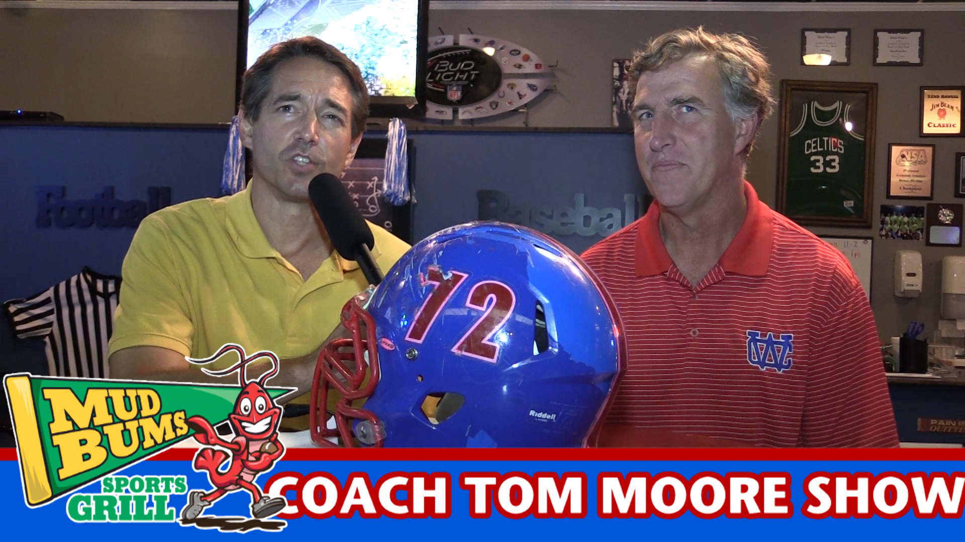 Coach Tom Moore discusses the Riverdale game