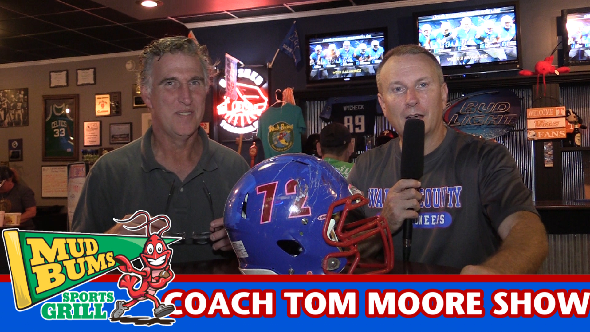 Coach Tom Moore discusses the Oakland game