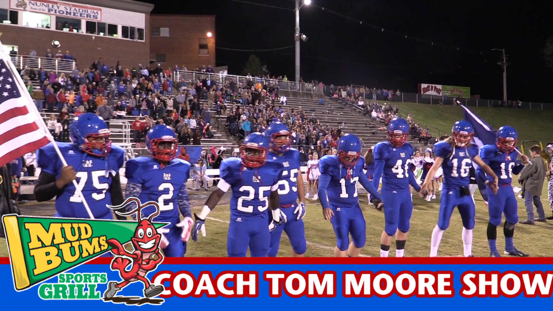 Coach Tom Moore talks about the Blackman game