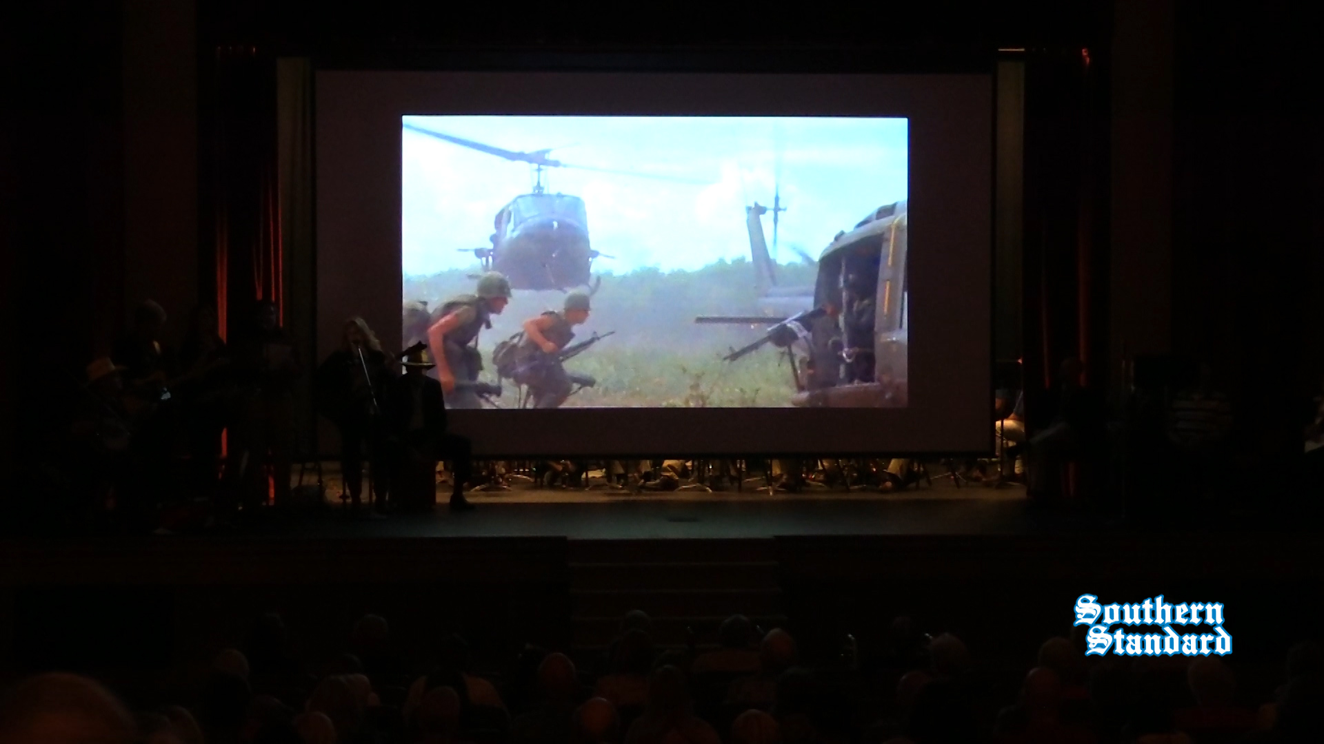 Video and song from Salute to Our Veterans at Park Theater