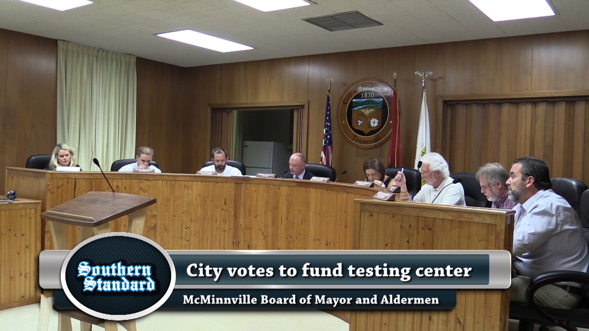VIDEO - City debates driver testing funding