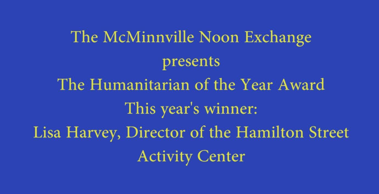 Humanitarian of the Year Award