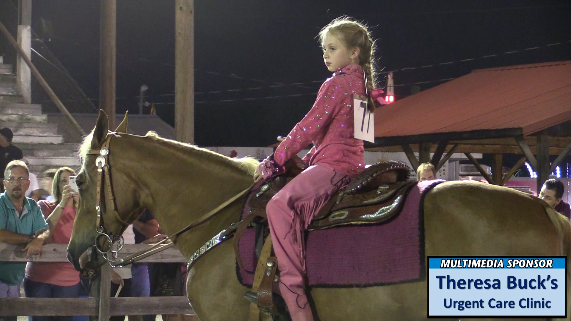 VIDEO: Warren County Fair Walking Horse Show