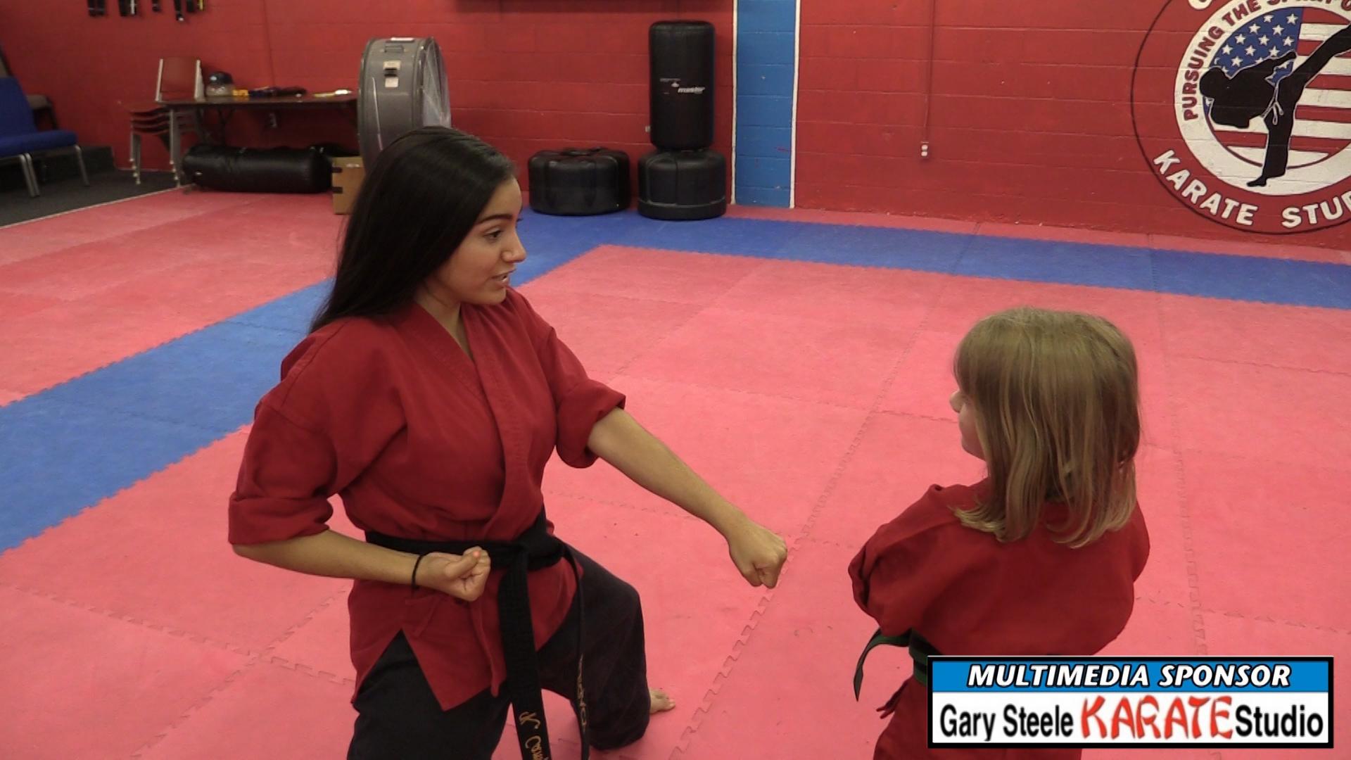 VIDEO: Belt Promotion at Gary Steele Karate