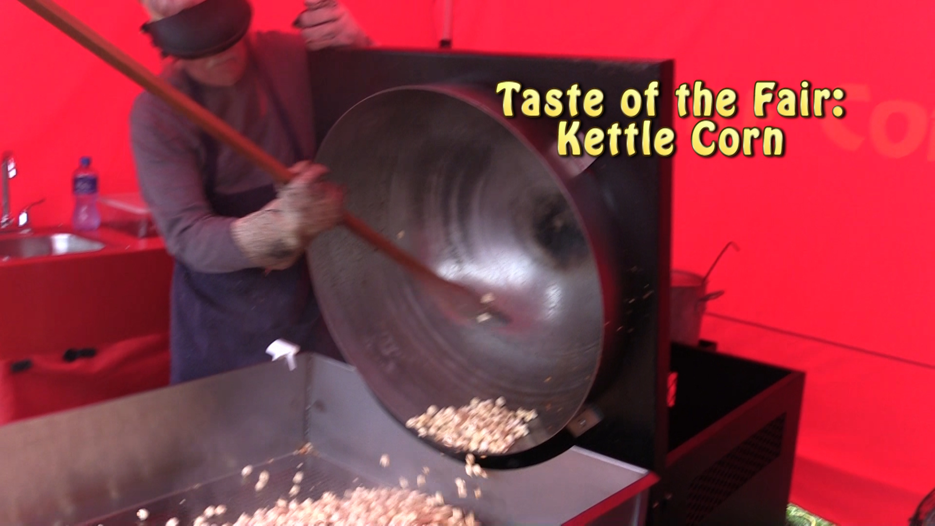 VIDEO - Kettle Corn at the Fair