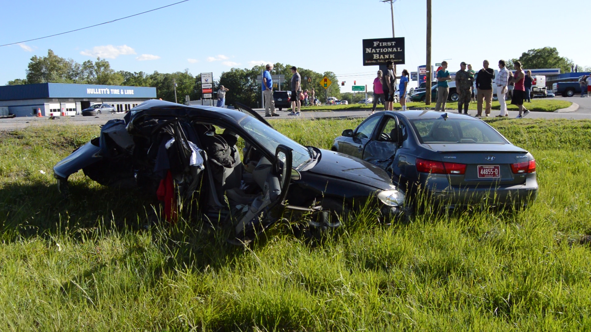 VIDEO - Five car wreck at Morrison