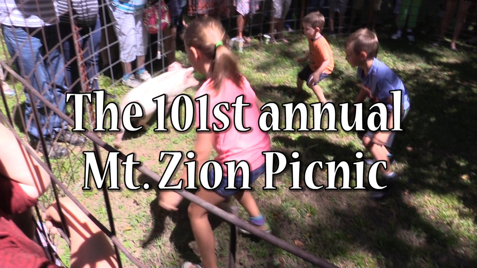VIDEO - Mt. Zion hosts 101st annual picnic