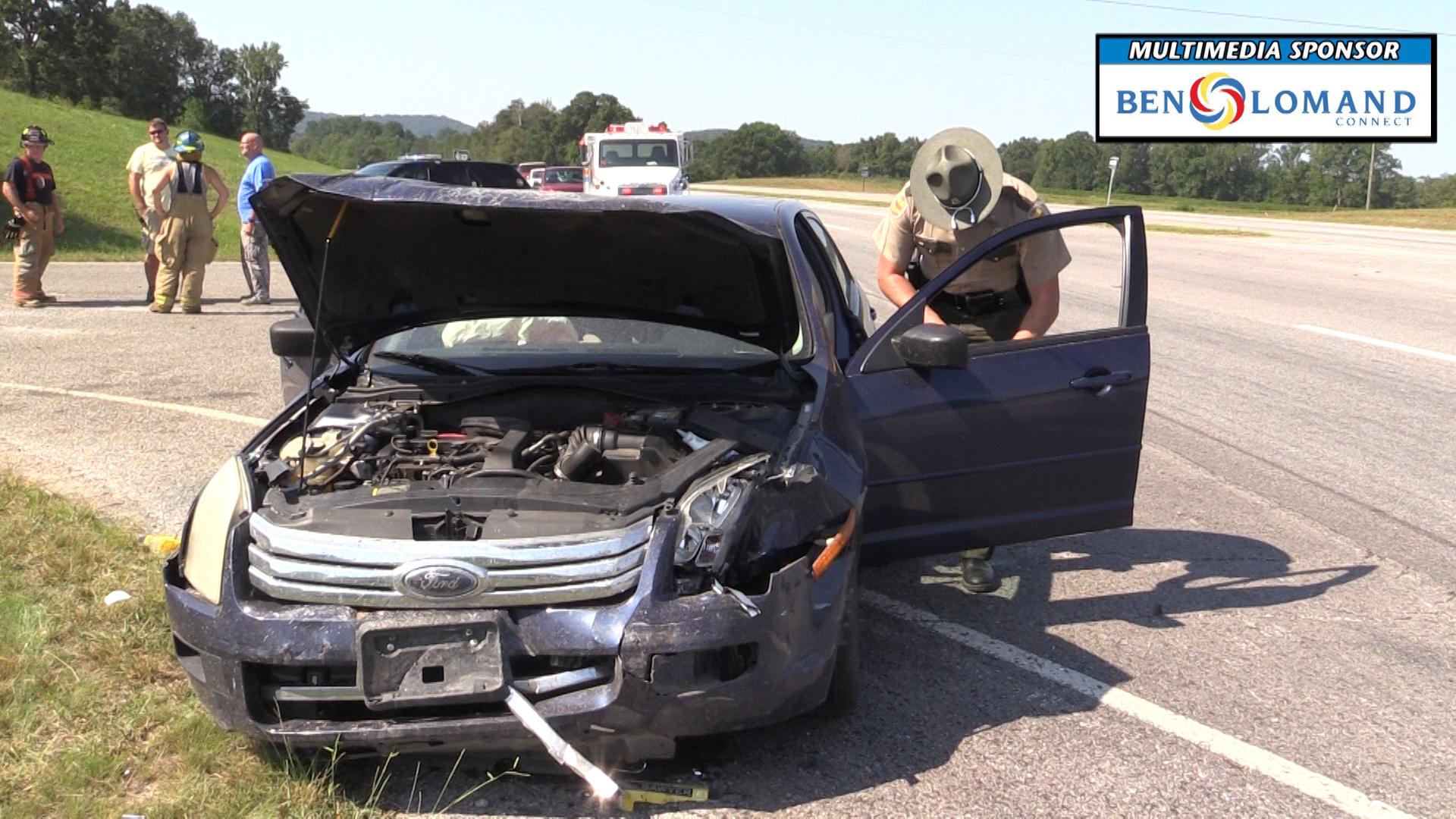 VIDEO: Man leaves scene of Mud Creek crash