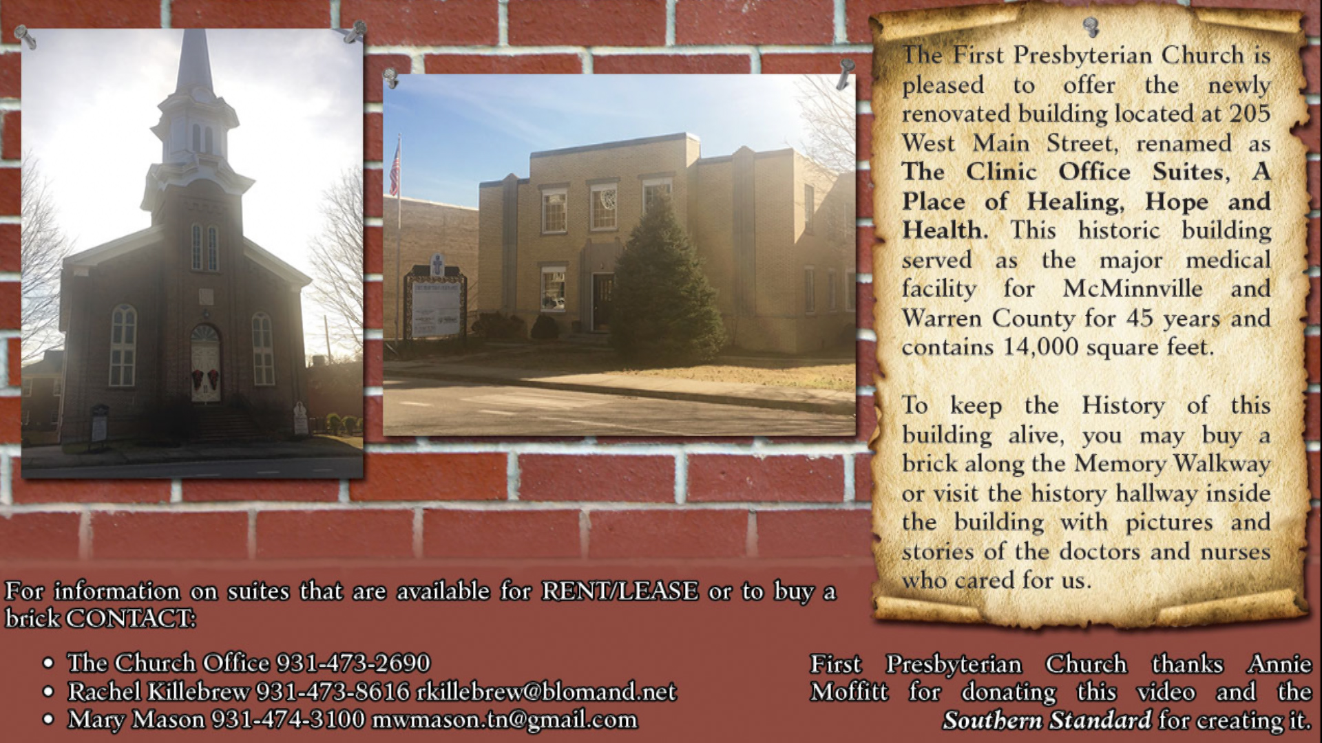 VIDEO - McMinnville's old clinic