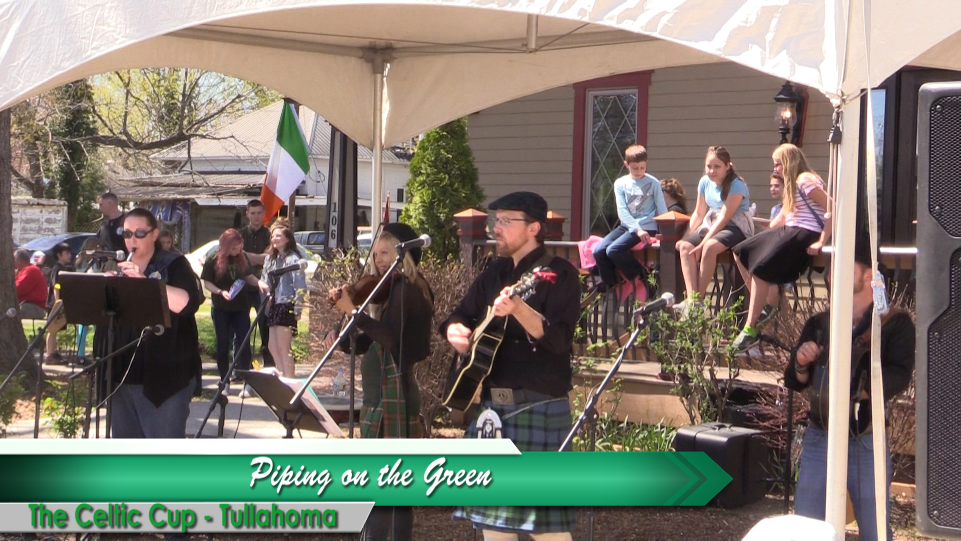 VIDEO - Piping on the Green in Tullahoma