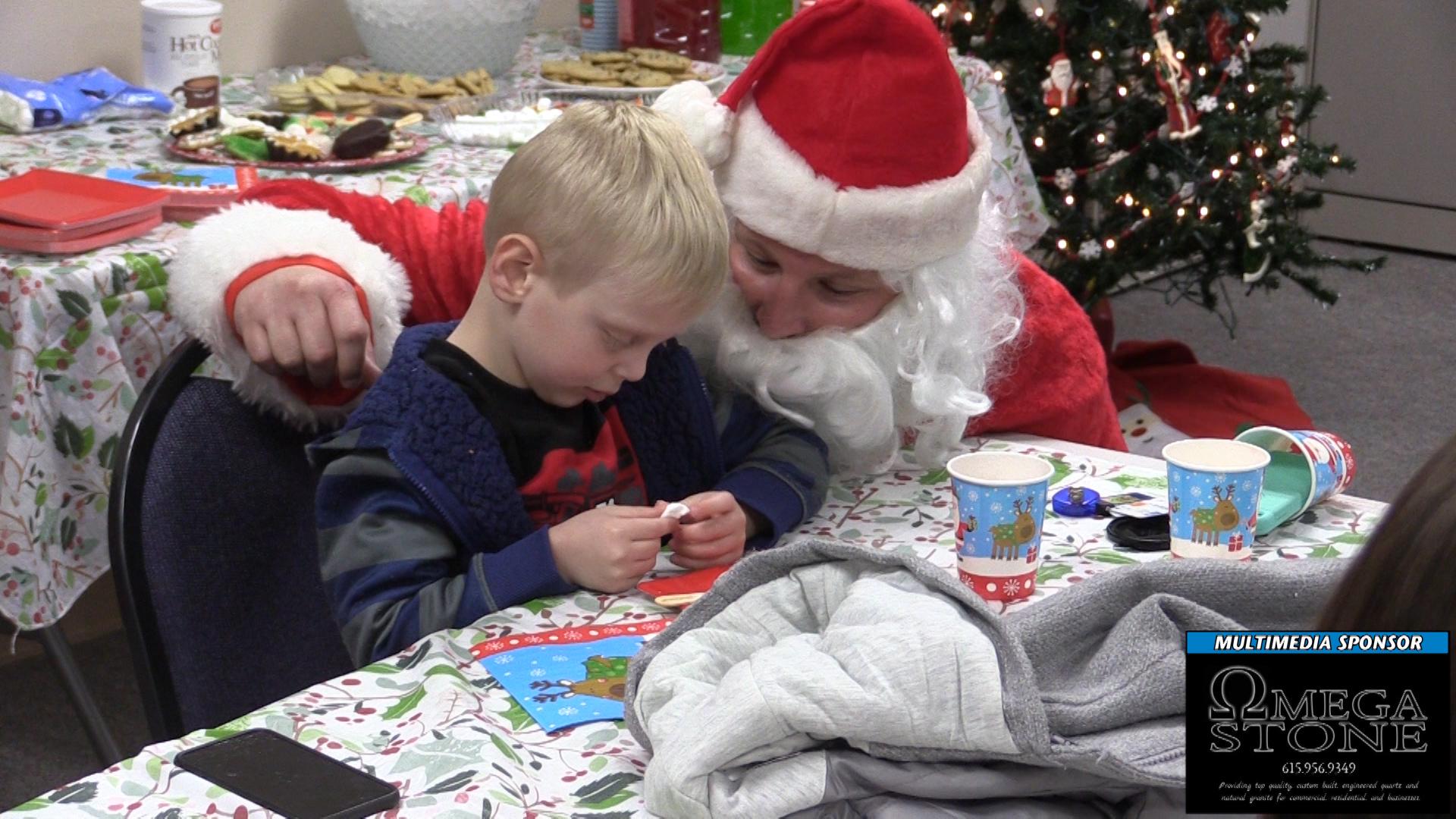 VIDEO - Sensitive Santa