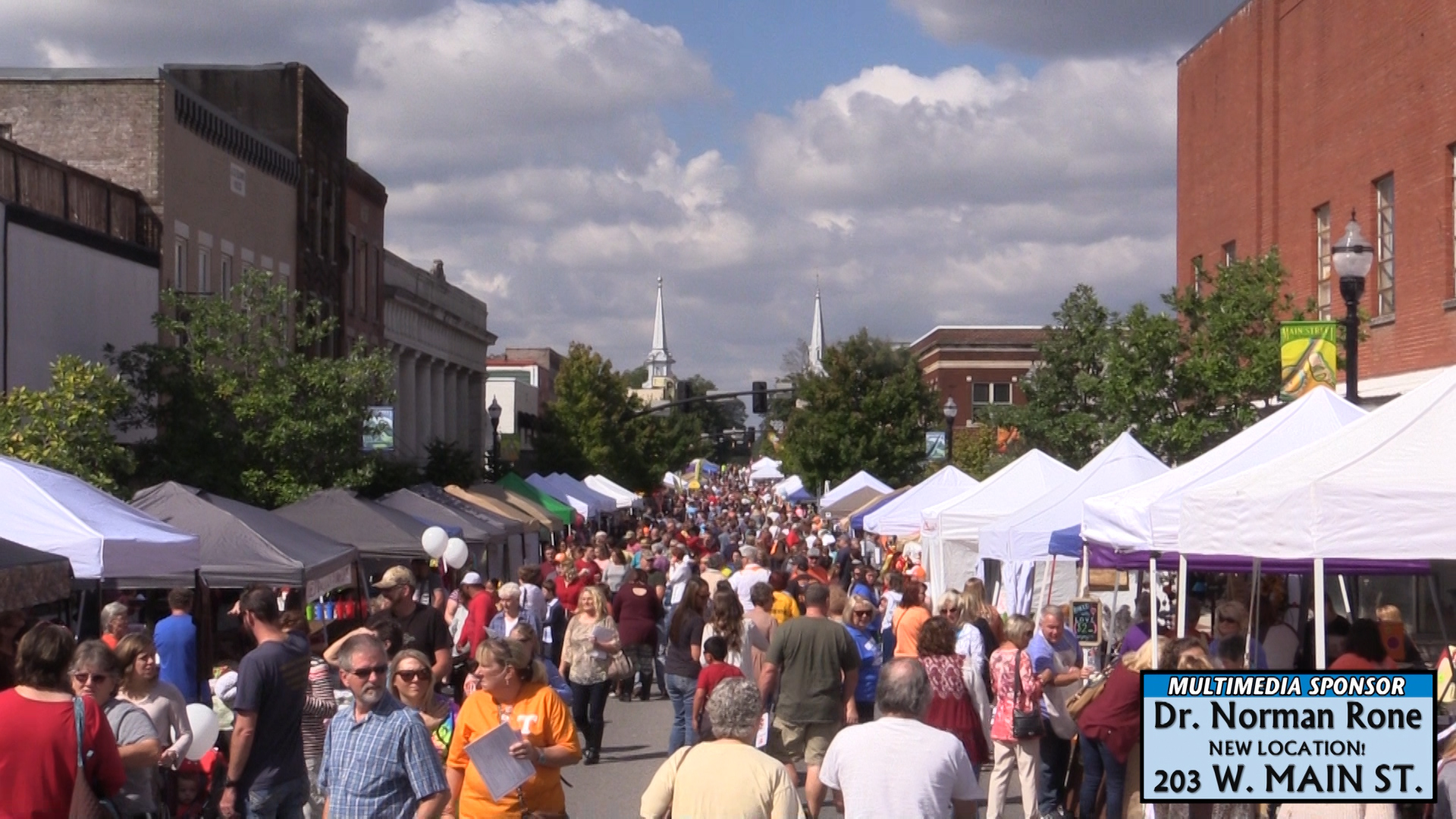 VIDEO - The McMinnville Autumn Street Fair
