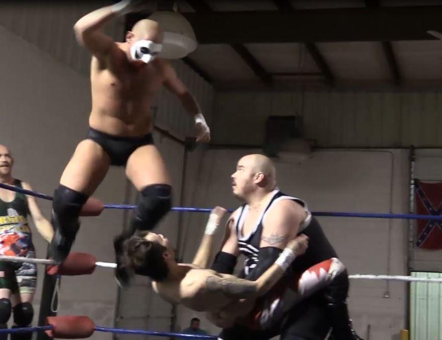 Local Saturday night wrestling