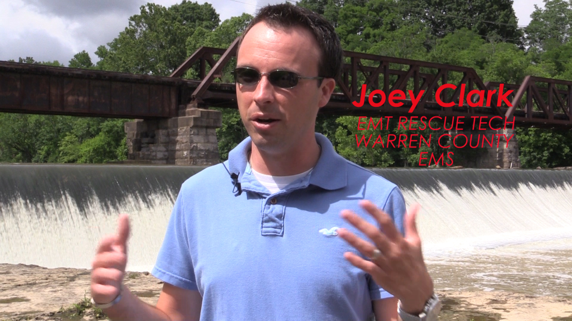 Emergency Tech Joey Clark discusses water safety