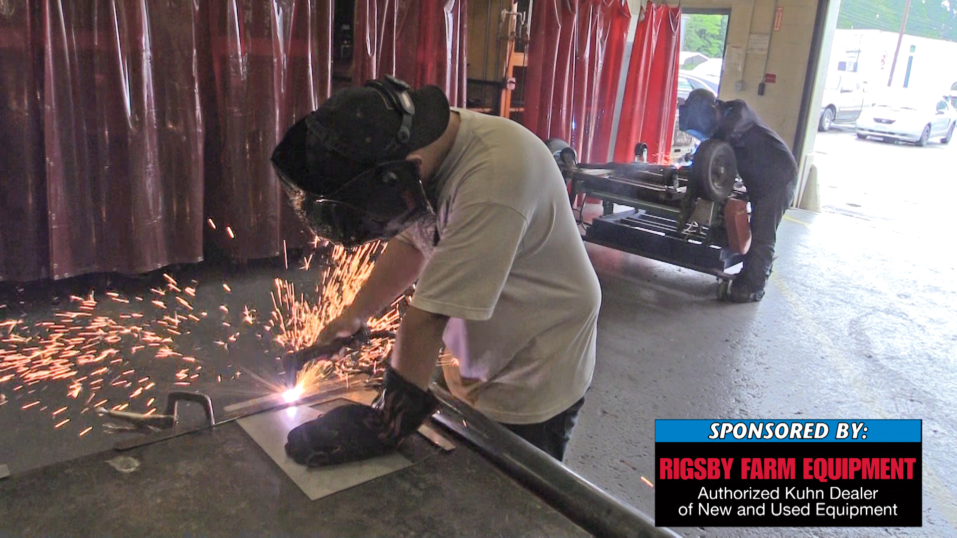 Behind the scenes at the TCAT welding class