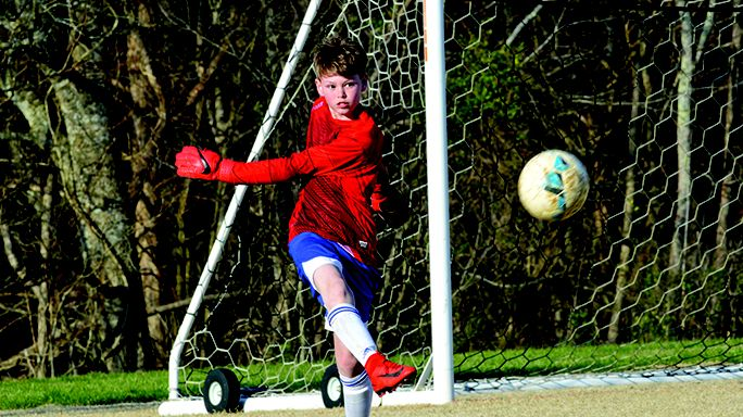 Brodie Cowans and the WCMS defense stood tall Thursday to down Franklin South 3-1.