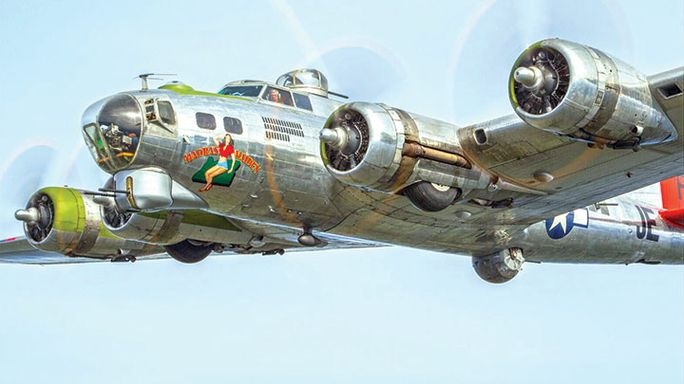 Flights on historic B-17 bomber to be offered for Salute to Veterans tour