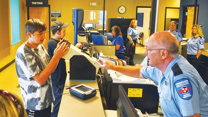 It's Back! Driver Testing Center reopens